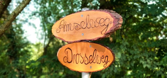 Kleingartenverein Fortschritt_Wegweiser