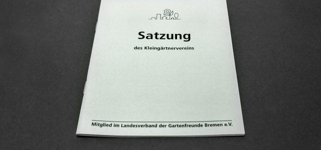Kleingartenverein Fortschritt_Satzung